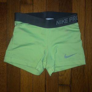 Nike Pro shorts.
